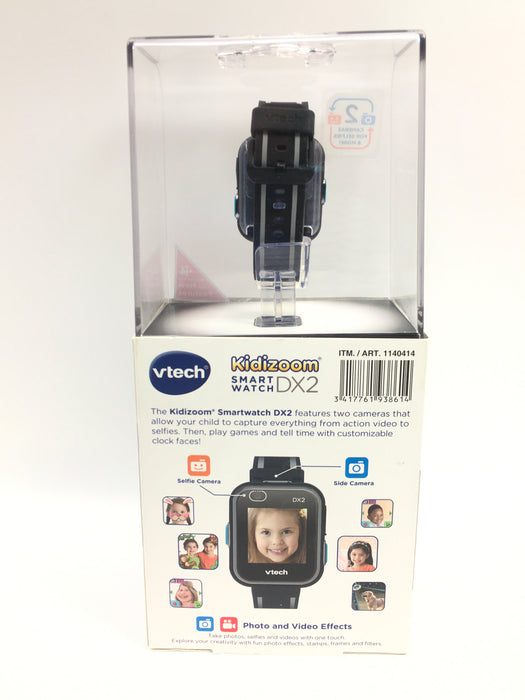 V-TECH KIDIZOOM SMART WATCH DX2 FOR KIDS BLACK
