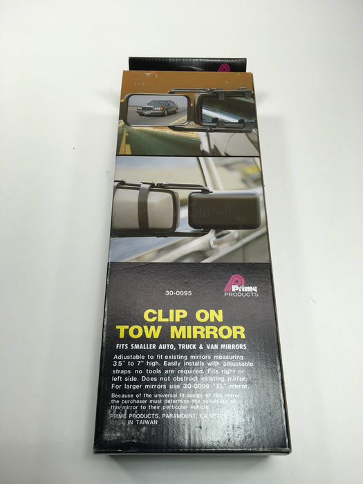 Prime Products 30-0095 Clip-On Tow Mirror