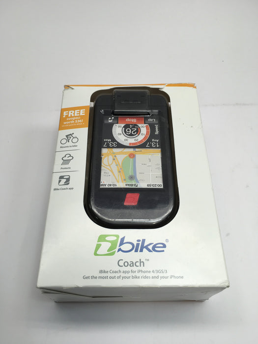 iBike Coach Cycling Computer for iPhone 3G, 3GS, 4/4S