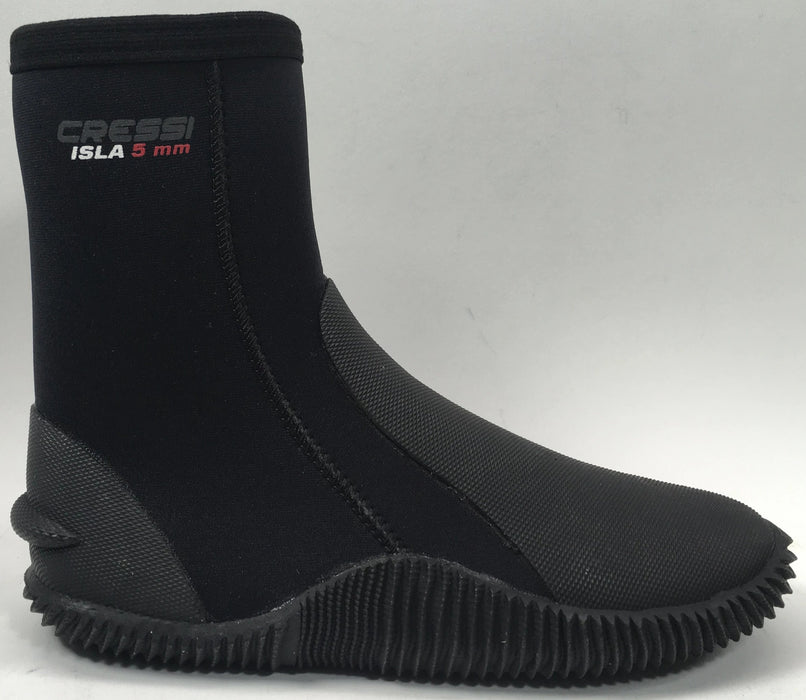 Cressi Isla 5mm Boot With Sole-Fin Holder -US 7-