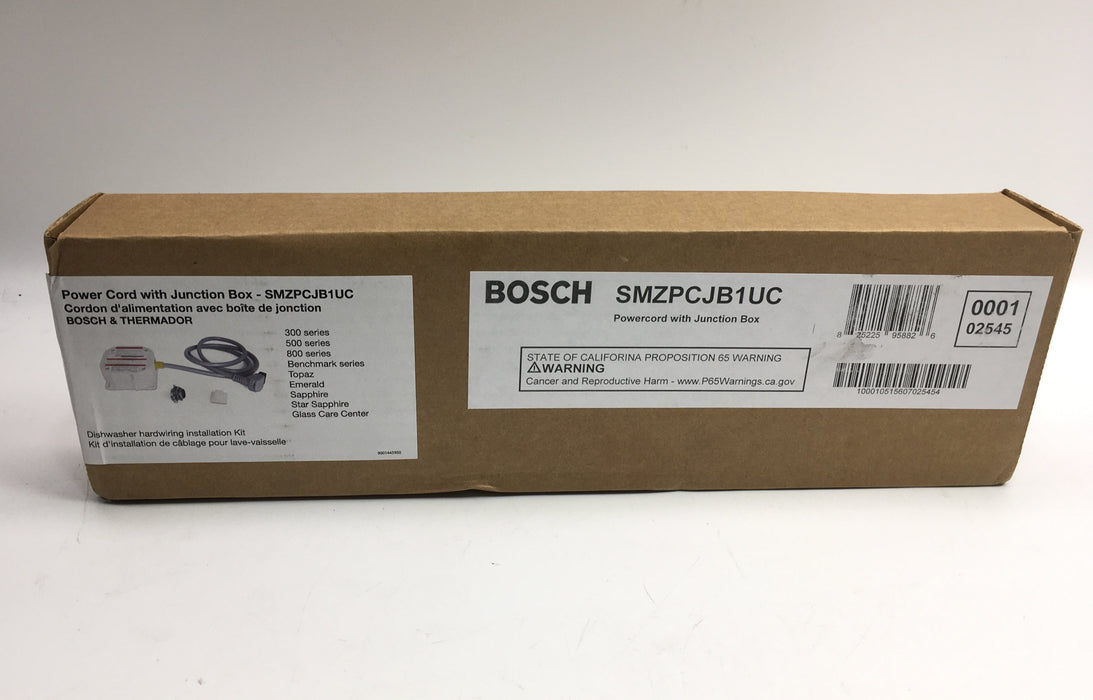 Bosch Dishwasher Junction Box
