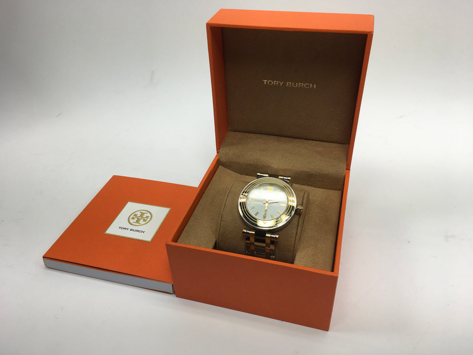 Tory Burch TBW9005 Women's Classic T Two-Tone Stainless Steel Bracelet Watch