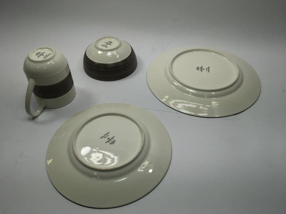 Vera Wang Wedgwood Devotion 4-Piece Place Setting *No Box/Light Wear*