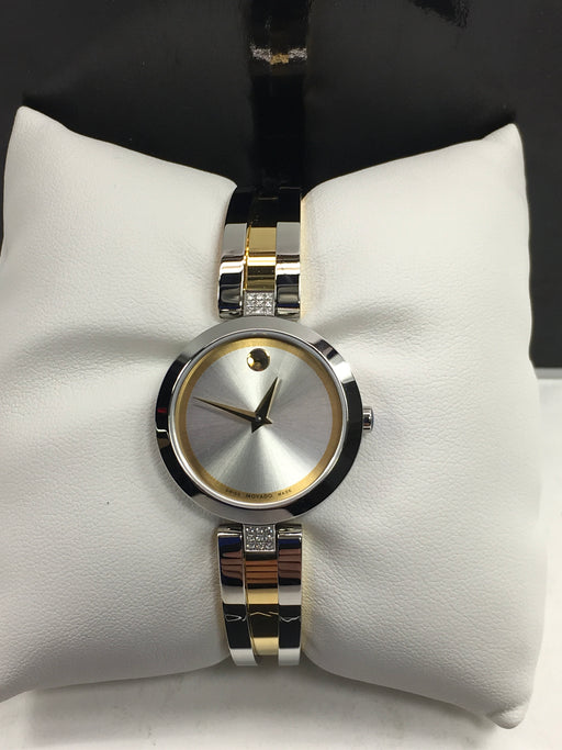 MOVADO Aleena Silver Dial Ladies Watch