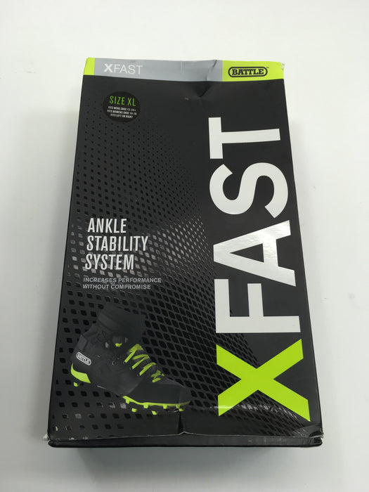 Battle xFAST Ankle Support System, Black - Size XL