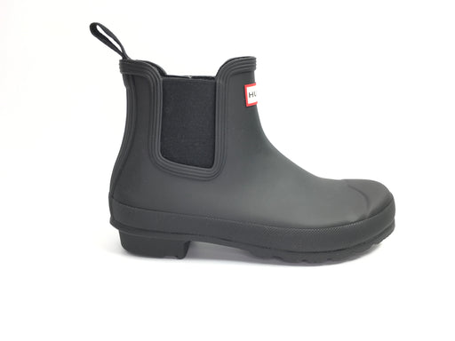 Hunter 'Original Chelsea' Rain Women's Boot (Matte) - Black {US 9}