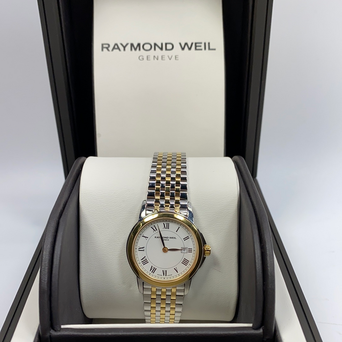 Raymond Weil 5966-STP-00995 Tradition Women's Diamond Stainless Steel Watch