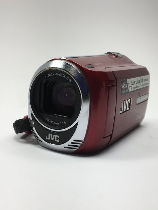 JVC GZ-MS230AU Everio S Flash Memory Camcorder Camera - Red *AS-IS/FOR PARTS ONLY*