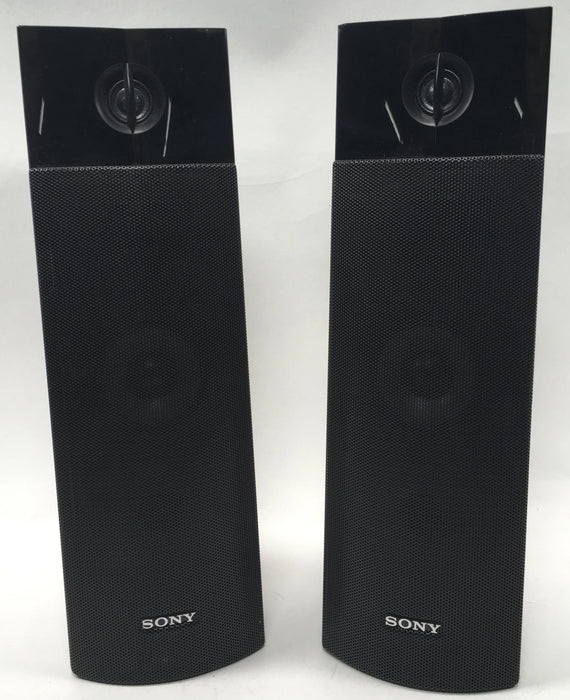 Sony SS-TSB112 Surround Sound Speakers Front L Left Front R Right Black *NO CORDS*