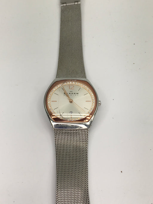 Skagen Women's SKW2050 Asta Stainless Steel Mesh Watch *AS IS*