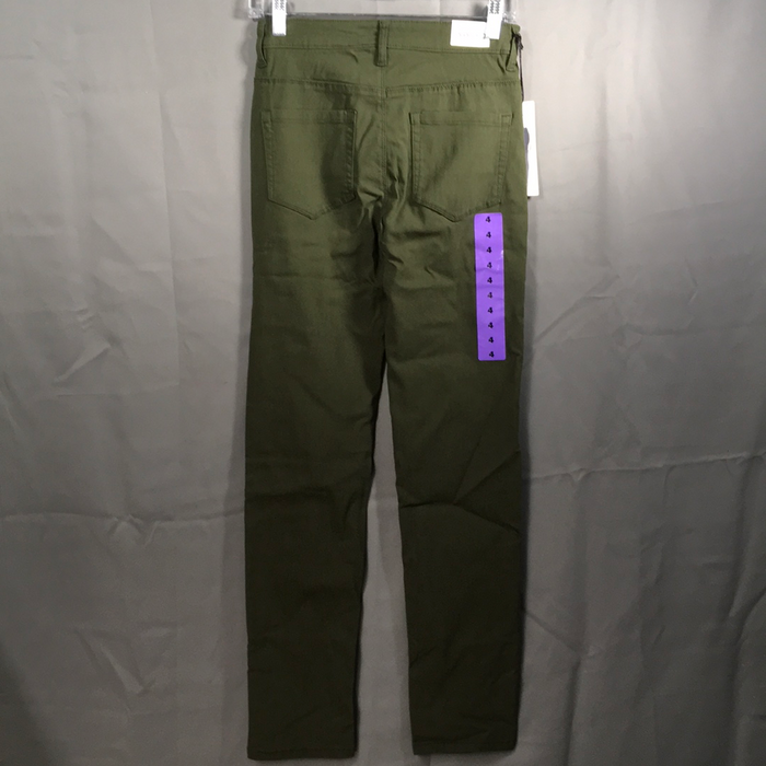 Parasuco Skinny Jeans Olive Green Color Size 4