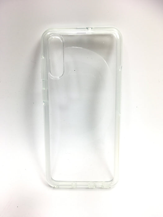 OtterBox Symmetry Series Clear - Back cover for cell phone - polycarbonate, synthetic rubber - clear - for Samsung Galaxy A50