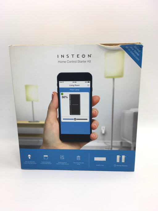 Insteon 2244-372 Home Control Starter Kit [w/Hub & 2x Dimmer Modules - White]
