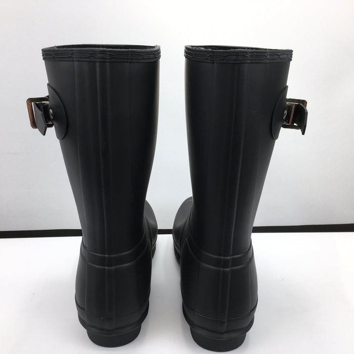 Hunter Women's Original Short Rain Boots: Black - Size 10