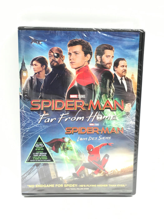Spider-Man: Far From Home (Bilingual) [DVD]