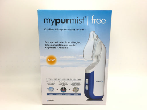 MyPurMist Free Cordless Handheld Steam Inhaler *As is, See condition details*
