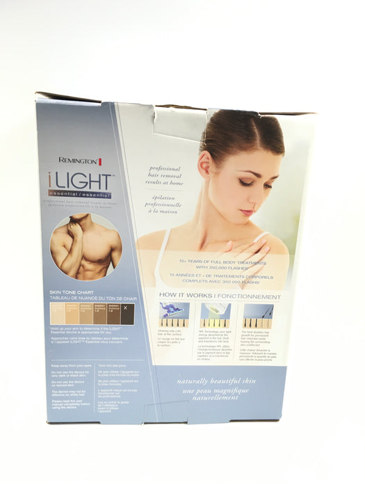 REMINGTON iLIGHT® Essential Hair Removal System