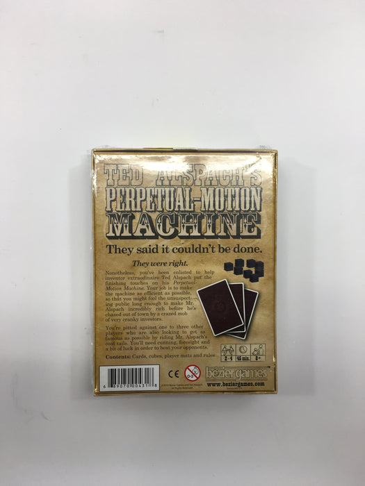 Bezier Games Perpetual Motion Machine Board Game