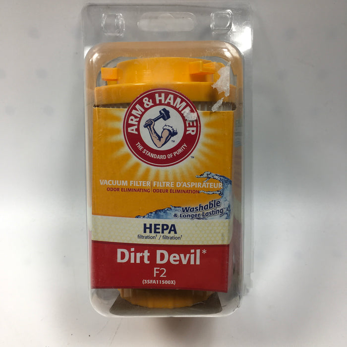 Arm & Hammer Dirt Devil Style F2 HEPA Filter