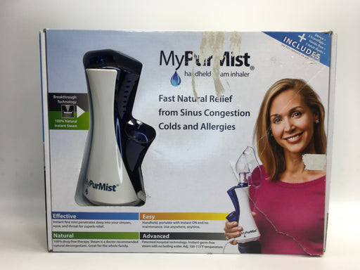 MyPurMist Handheld Personal Steam Inhaler and Vaporizer *As Is - See condition details*
