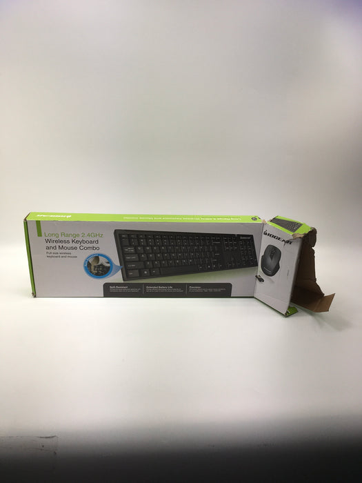 IOGEAR Long Range 2.4 GHz Wireless Keyboard **MISSING MOUSE - AS-IS - FINAL SALE**