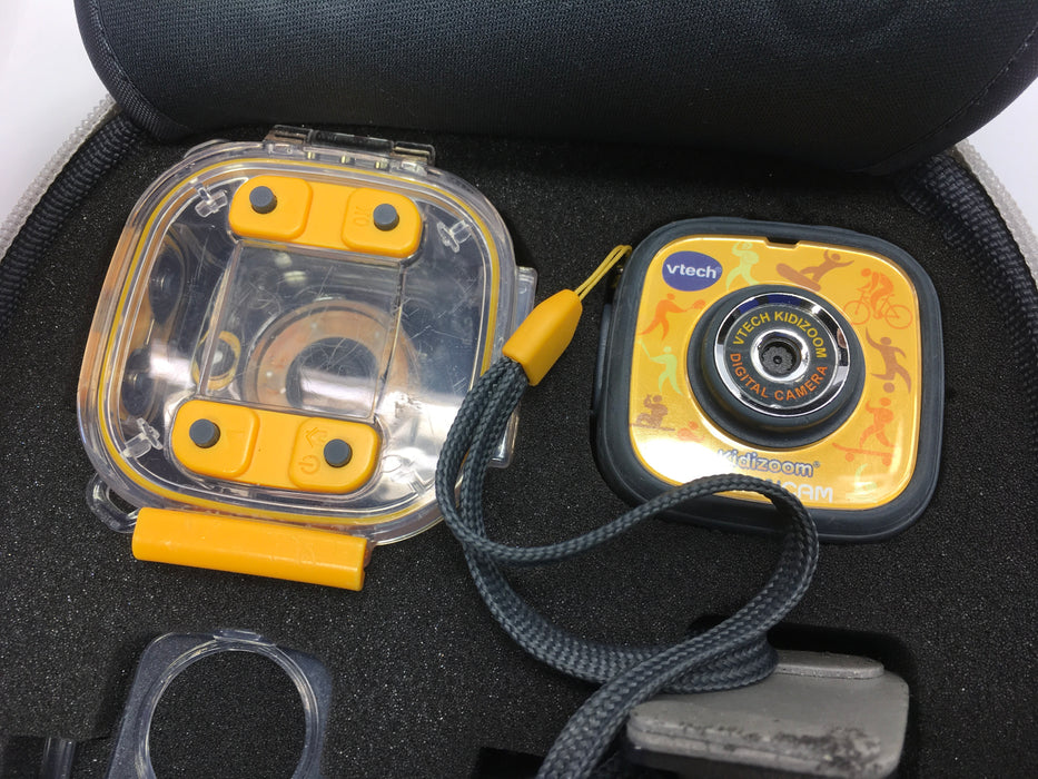 VTech Kidizoom Action Cam, Yellow/Black *No Box/Light Wear*