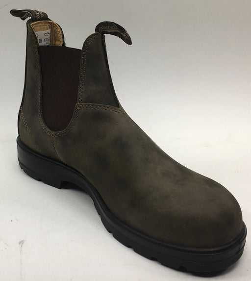 Blundstone 585 - Leather Lined Rustic Brown- Unisex (AUS/UK 8)