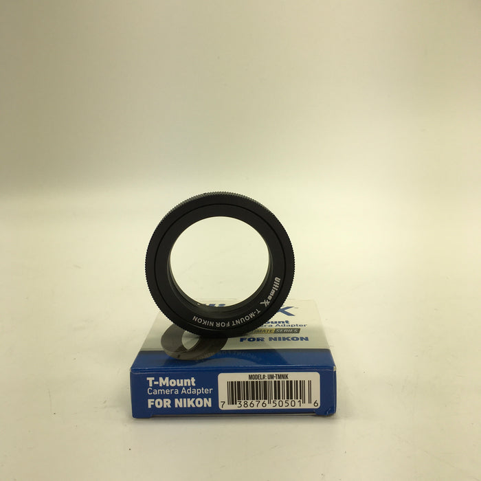 Ultimaxx T-Mount Camera Adapter for Nikon Lenses