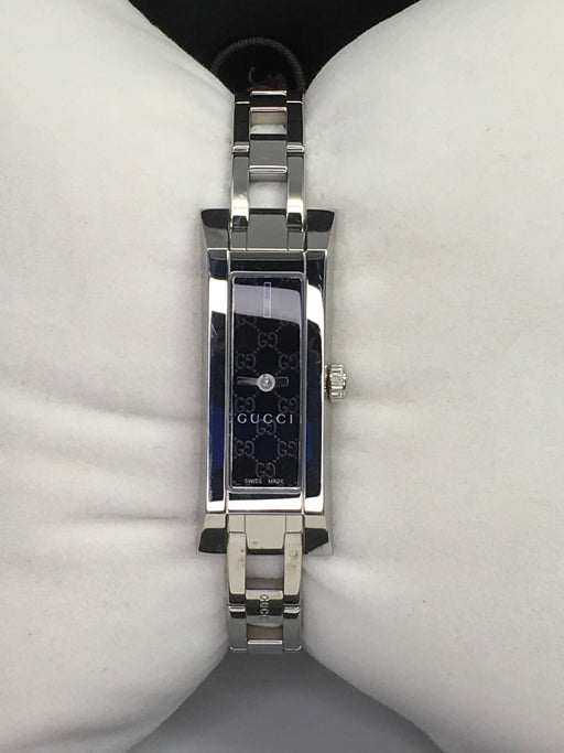 Gucci YA110526 Women's G-Link Mini Bracelet Watch *Some Wear*