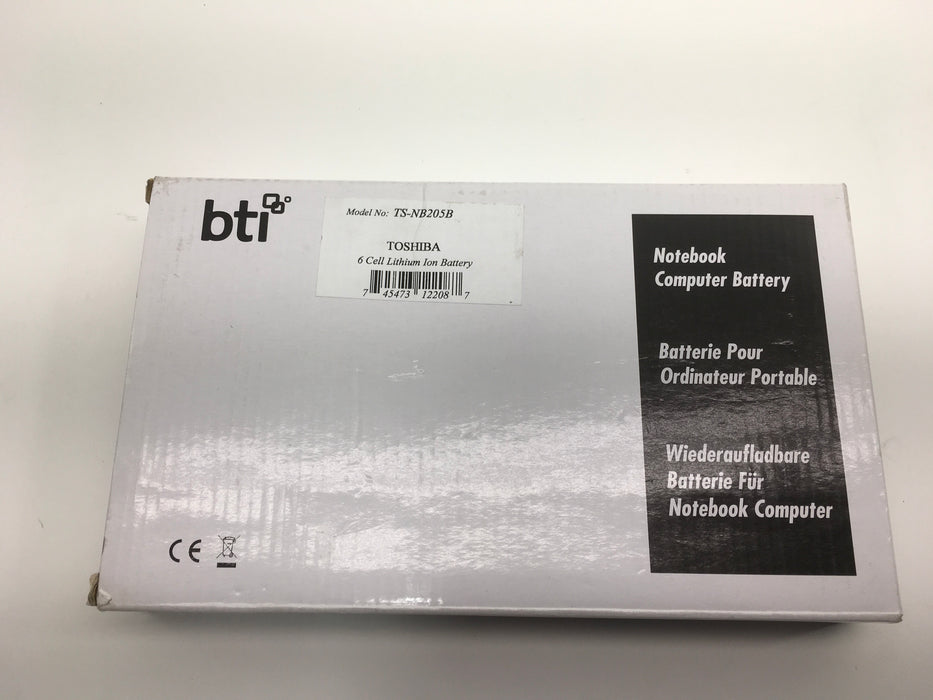 BTI - Notebook battery - 6 cell lithium ion Battery