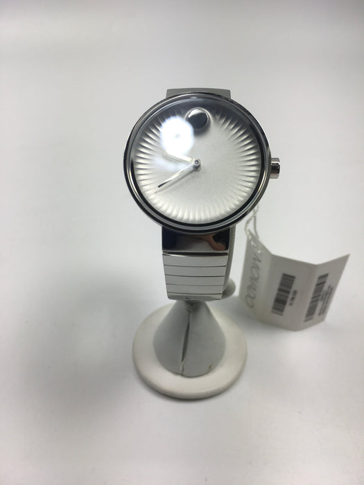 Movado Edge Silver Dial Stainless Steel Ladies Watch 3680012