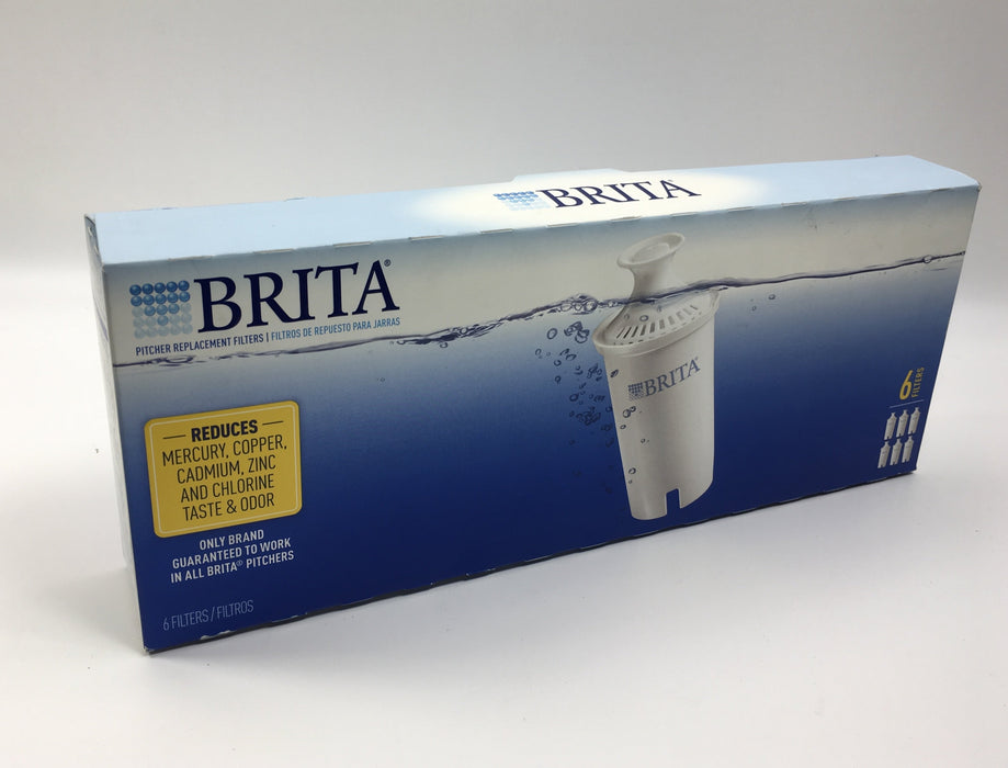 Brita Replacement Filter for Pitchers (6 Pack)
