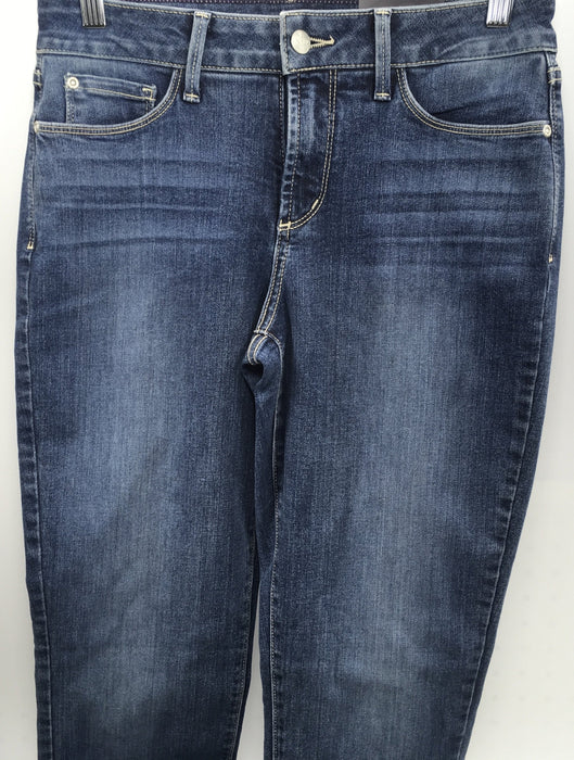 NYDJ Women's Samantha Slim Jeans In-Stretch Indigo Denim - Heyburn ( Size 4  )
