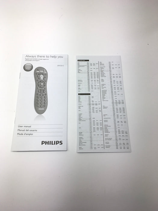 Philips 3 In 1 Easy Universal Remote Control Srp3013 27