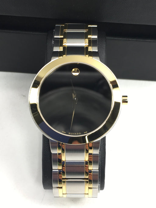 MOVADO Stiri Black Dial Men's Watch