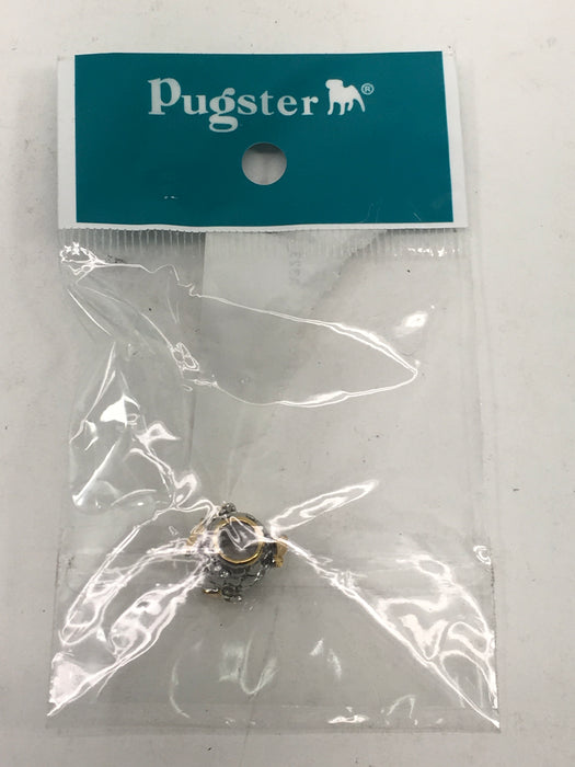 Pugster Charmed Craft Sterling Silver Butterfly Charm -White Gems