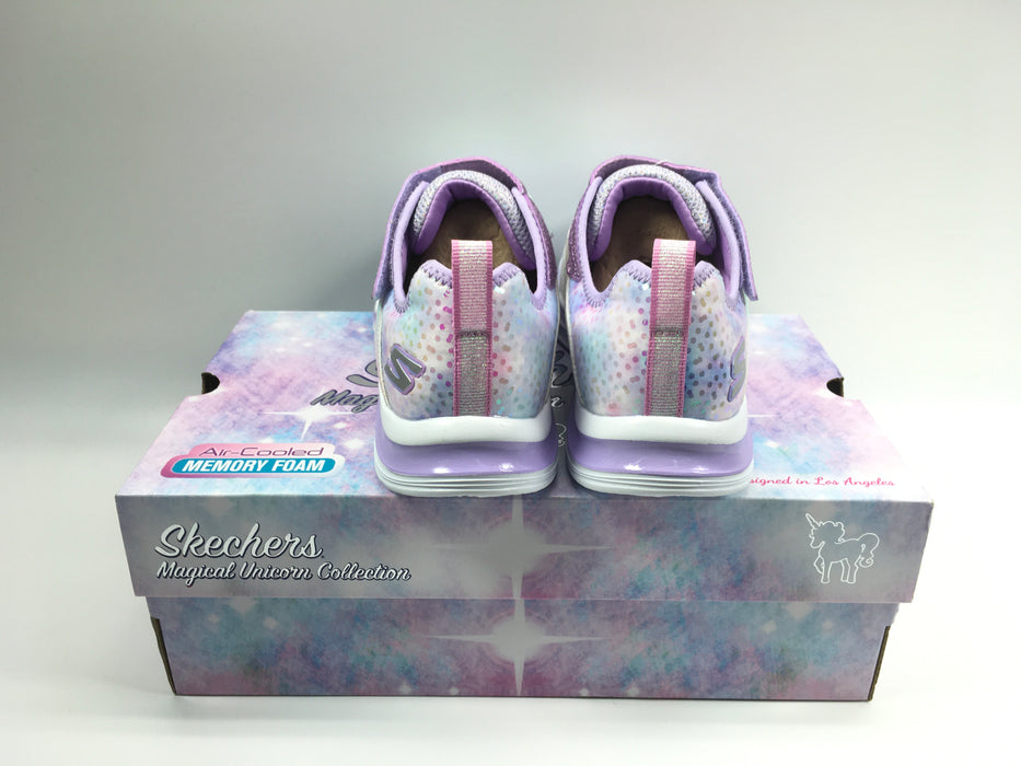 SKETCHERS Double Dreams Shimmer Sneaker Girls Size 5