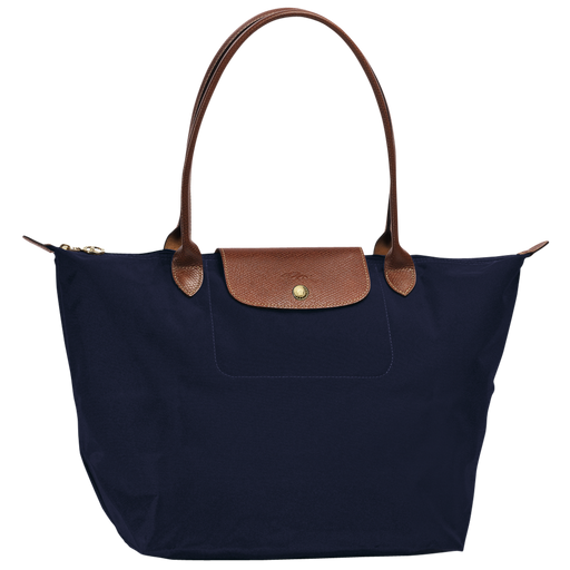 Longchamp L1899089556 Le Pliage Large Nylon Shoulder Tote - Navy *Wear*