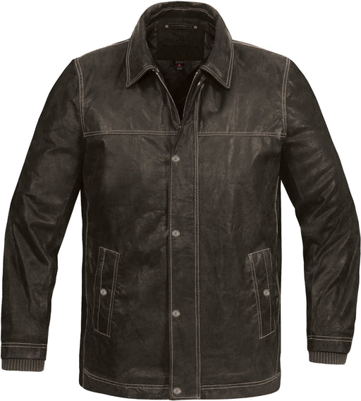 Stormtech LRS-4 Men's Outback Leather Jacket - Brown