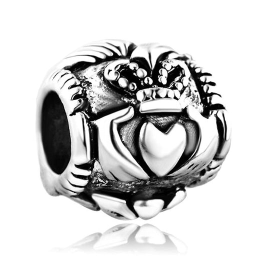 Pugster Celtic Friendship Claddagh Charm