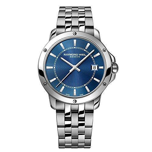 Raymond Weil Tango Blue Dial Stainless Steel Mens Watch 5591-ST-50001 *Visible Wear*-Men's Watch-Raymond Weil-Big Box Outlet Store