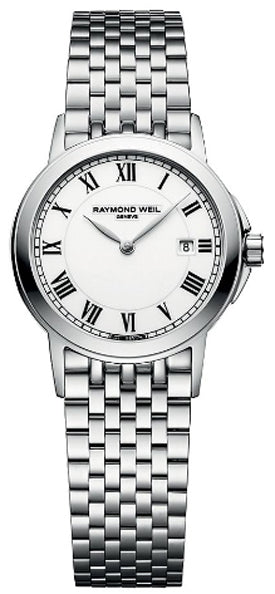 Raymond Weil Tradition Ladies Watch 5966-ST-00300 *Visible Wear*
