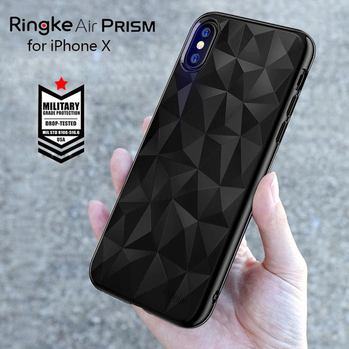 AIR prism for iphone x (Glitter Grey)