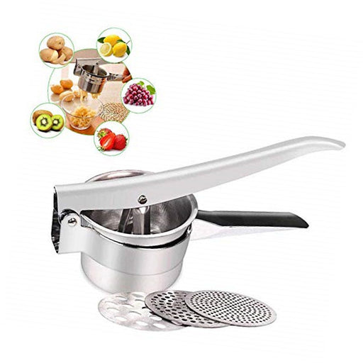 Freetor Stainless Steel Mash Potato Ricer and Fruit Press