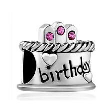 Pugster Happy Birthday Cake Charm
