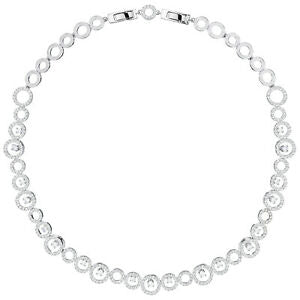 Swarovski Women's Creativity Crystal-Embellished Necklace - Silver
