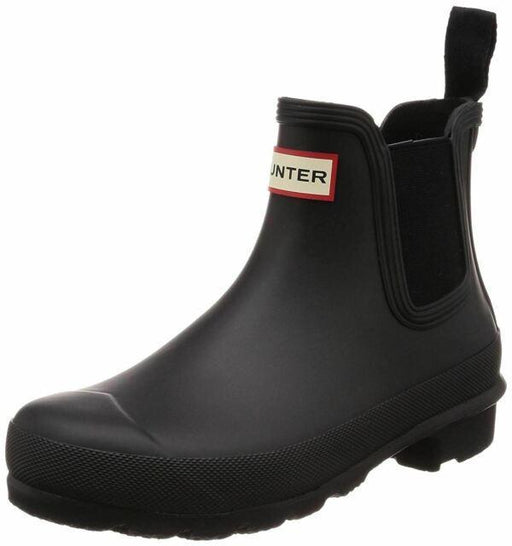 Hunter 'Original Chelsea' Rain Women's Boot (Matte) - Black [US 8 M]