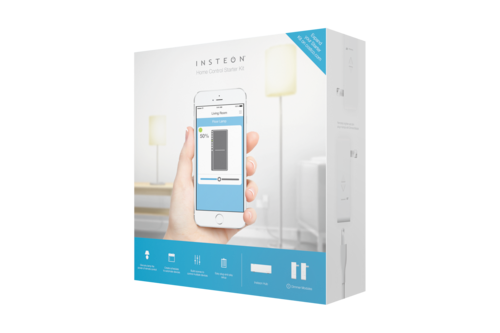 Insteon 2244-372 Home Control Starter Kit (w/Hub & 2x Dimmer Modules - White)