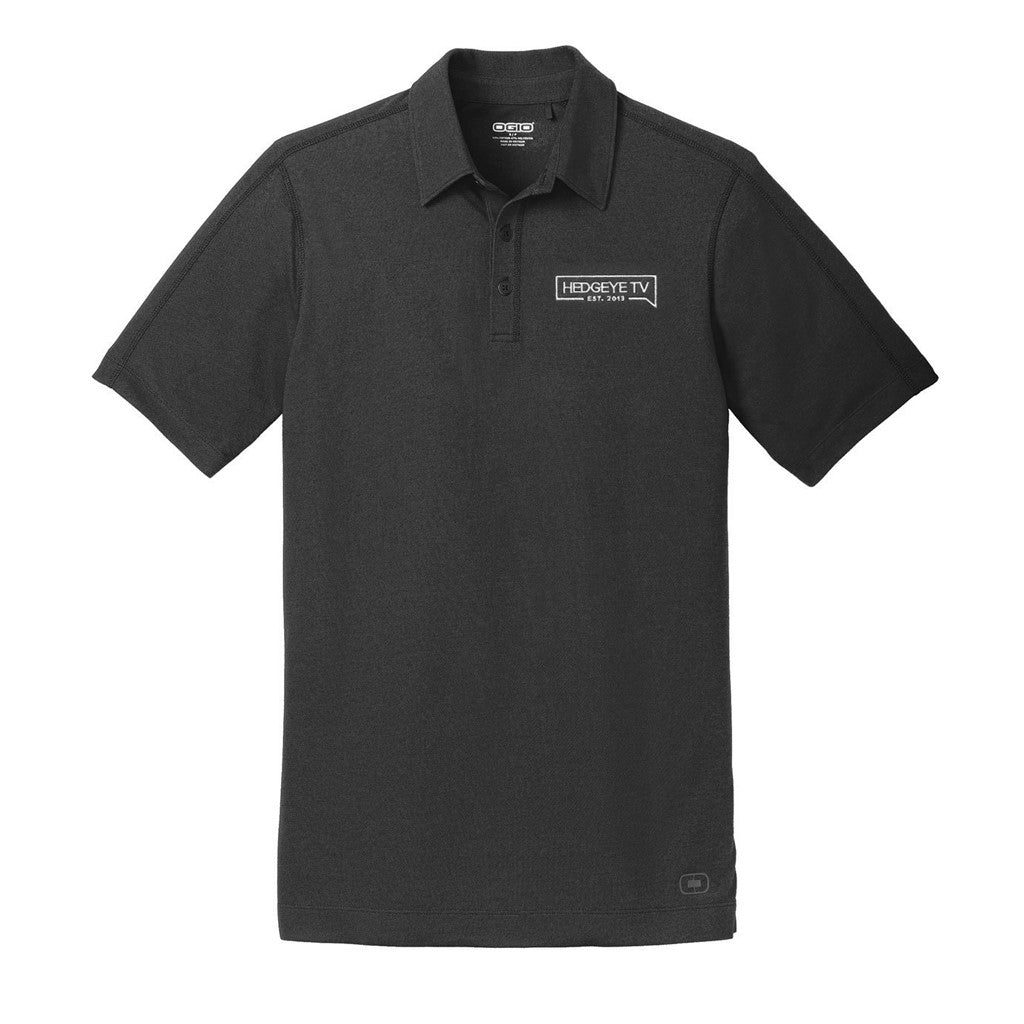HedgeyeTV Polo (Black)