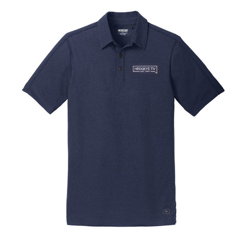 HedgeyeTV Polo (Blue)